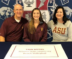 Eryn Myers Signing Day 11-14-18