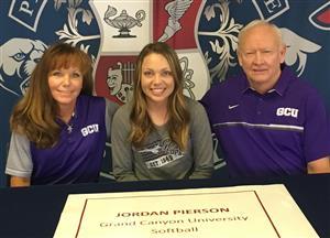 Jordan Pierson Signing Day 11-2017