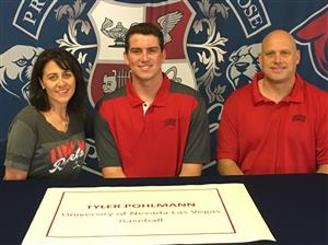 Tyler Pohlmann Signing Day 11-2017