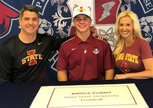 Brock Purdy Signing Day 2-7-18