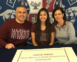 Halle Razo Signing Day 11-2017