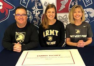 Emma Richey Signing Day 2-7-18