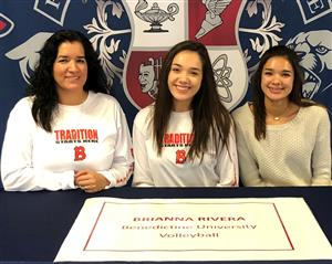 Brianna Rivera Signing Day 11-14-18