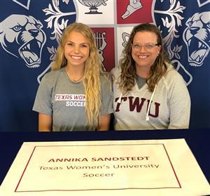 Annika Sandstedt Signing Day 2-6-19