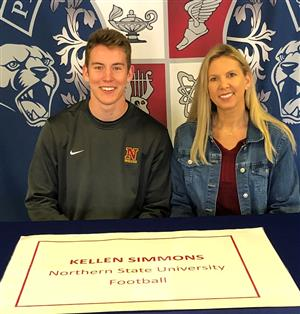 Kellen Simmons Signing Day 2-6-19