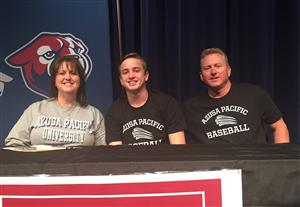 Tayton Smith College Signing Baseball 2015