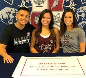 Matea Suan Signing Day 11-14-18