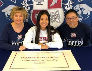 Shaylynn Uyeshiro Signing Day 2-6-19