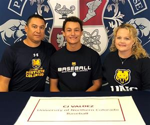 CJ Valdez Signing Day 11-14-18