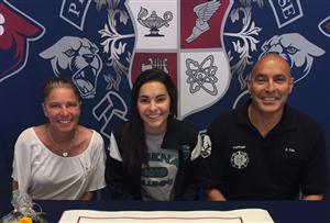 Cacey Villa Signing Day April 2016