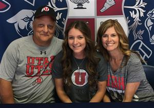 Chandler Walter Signing Day Nov.  2016