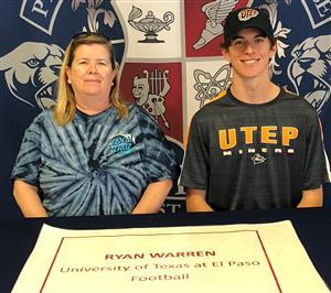 Ryan Warren Signing Day 2-7-18