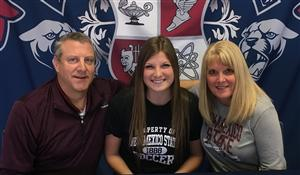Rachel Wolter Signing Day 2017