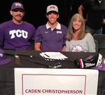 Caden Christopherson signed with TCU (golf).