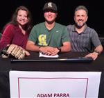 Adam Parra signed with Central Arizona College.