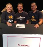 CJ Valdez signed with the University of Northern Colorado.