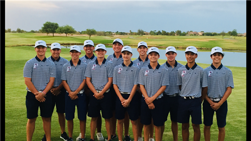 2018 Perry Golf Team