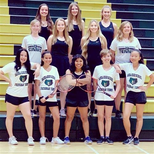 2019 Basha Girls Tennis Squad