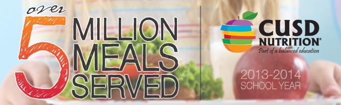 5 mil meals