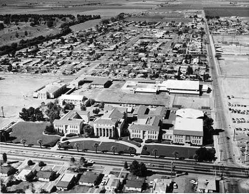 Arial view of Chandler 1965