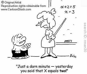 Algebra Cartoon