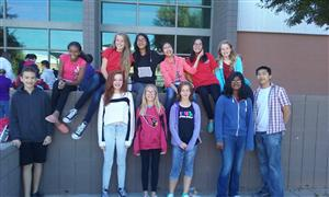 Math Club at Math League Competition 2015