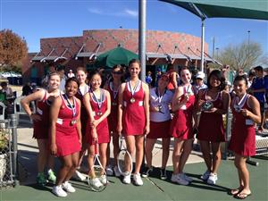 2nd Place East Valley Invitational Silver League 2013