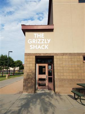 Grizzly Shack Entrance