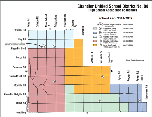 Sr High Boundary Map 2018 2018