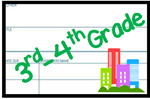 3-4 grade library card image