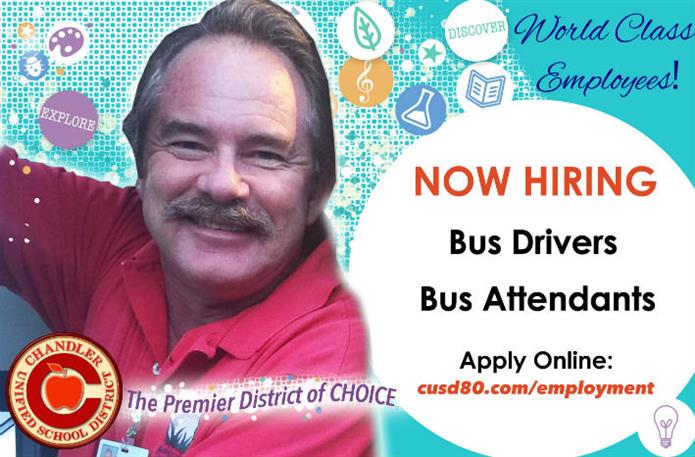 Jim Moore Bus Driver - Now Hiring Bus Drivers/ Bus Attendants