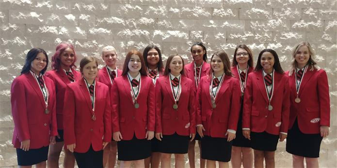 Basha High FCCLA Students