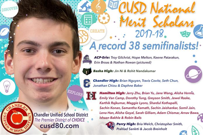 National Merit Semifinalist graphic