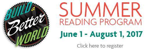 Summer Reading Program June 1 - August 1