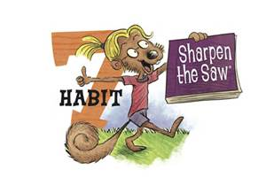 Habit 7 shrpen the saw