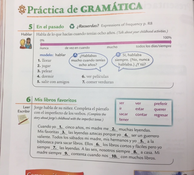 Zink Kathi Spanish 2 Assignments and Notes – Preterite Vs Imperfect Worksheet with Answers