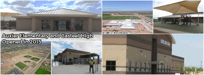 Auxier Elementary and Casteel High School open in 2015