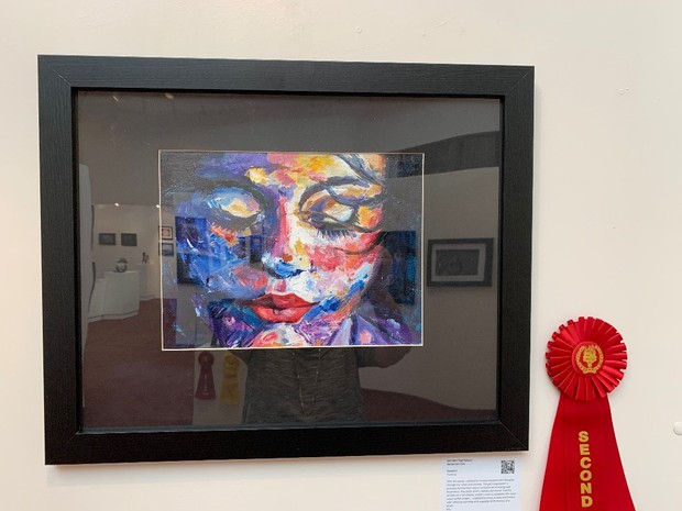 CHS Winners at District Art Show