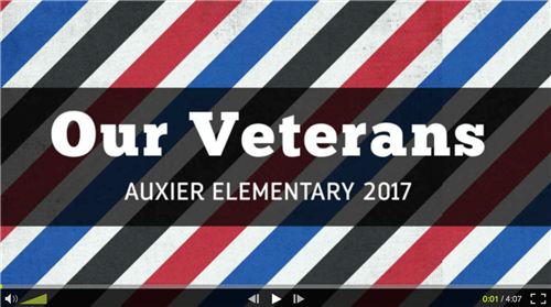 Our Veterans Video