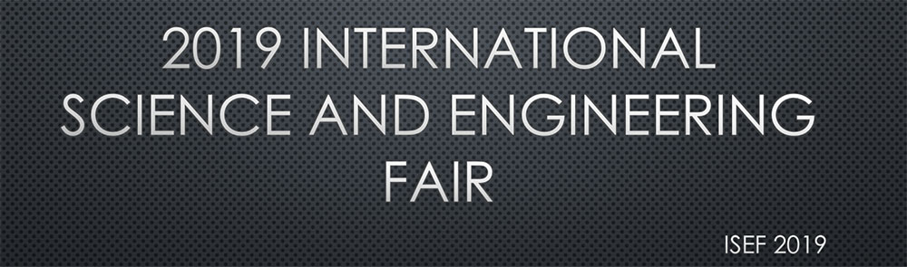 Intel International Science and Engineering Fair 2019
