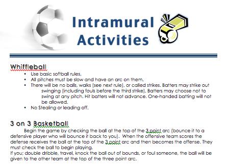 Intramural
