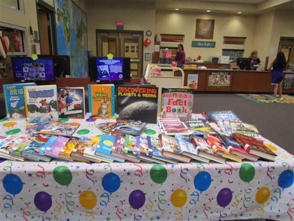 Library Media Center / Birthday Club