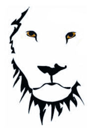 graphic of lion