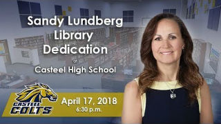 Sandy Lundberg Library Dedication, April 17, 2018