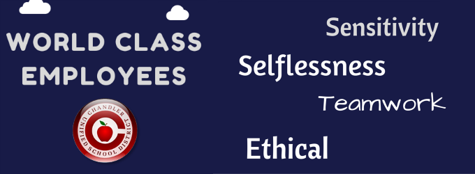 World Class Employees: Sensitivity, Selflessness, Teamwork, Ethical