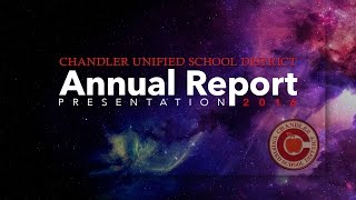 Chandler Unified School District Annual Report 2016