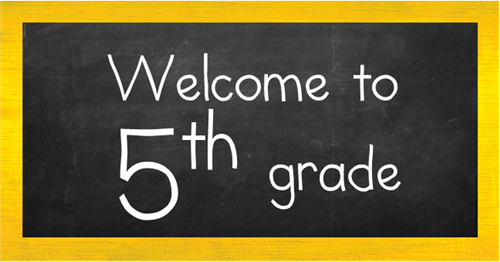 Image result for welcome to 5th grade s