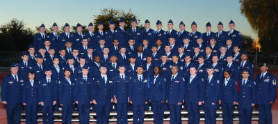 Hamilton AFJROTC unit selected for the 2015-2016 Distinguished Unit Award (DUA)
