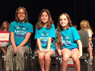 Knox Gifted Academy's Battle of the Books Team