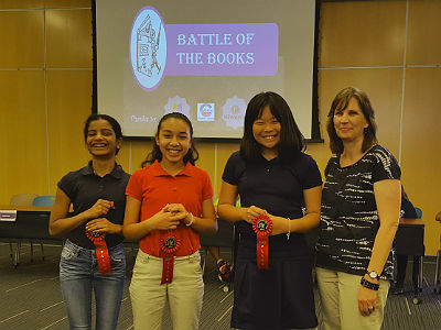 CTA Goodman Battle of the Books Team
